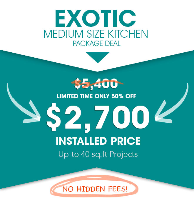 Baltimore Exotic Granite Countertop Sale